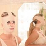 Elastický návlek na hlavu – použitie pri liposukcii brady, face-lifte , forehead-lifte a brow-lifte